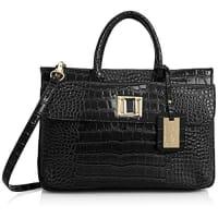 SwankyswansSwankySwans Bedford Patent Leather Business, Damen Laptop-Tasche
