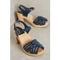 Swedish HasbeensWoven Sandal Clogs
