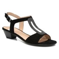 SweetChenel - Sandalen für Damen / schwarz