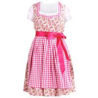 Swing CurveFROM 1938 SET Dirndl pink