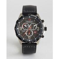 Swiss MilitaryAce Chrono Watch - Black