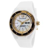TechnomarineWomens TM-115119 Sea Manta Quartz White Dial Watch