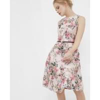 Ted BakerBlossom Jacquard full dress Mid Pink
