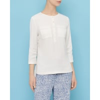 Ted BakerButton-front top Ivory