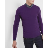 Ted BakerCashmere crew neck sweater Purple