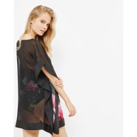 Ted BakerCitrus Bloom cover up Black