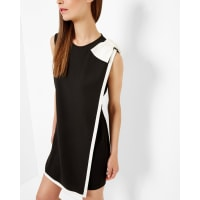 Ted BakerDouble layered tunic dress Black
