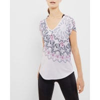 Ted BakerDynamic Butterfly cross strap T-shirt Pale Purple