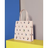 Ted BakerFly fish shopper bag Pale Pink