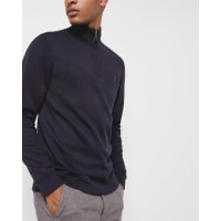 Ted BakerFunnel neck sweater Navy