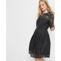 Ted BakerGeo Lace full dress Black