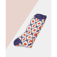 Ted BakerGeo organic cotton socks Navy