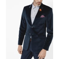 Ted BakerVelvet jacket Teal