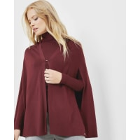 Ted BakerKnitted cape Oxblood