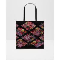 Ted BakerLost Gardens large shopper bag Black