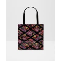 Ted BakerLost Gardens small shopper bag Black