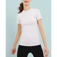 Ted BakerMesh fitted T-shirt Pale Purple