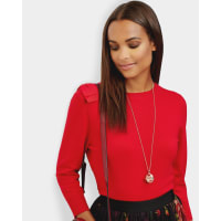 Ted BakerOversized bow sweater Bright Red