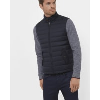 Ted BakerQuilted down filled gilet Navy