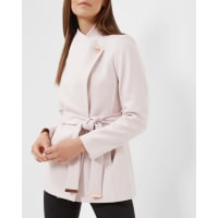 Ted BakerShort wrap coat Pink