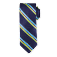 Ted BakerSotheby Striped Printed Tie