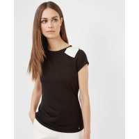 Ted BakerOversized bow T-shirt Black