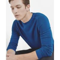 Ted BakerTextured crew neck sweater Blue