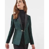 Ted BakerVelvet tuxedo suit jacket Jade