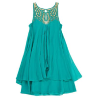 Temperley LondonPre-Owned - Turquoise Silk Dress