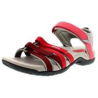 TevaTirra Ws - Sandalias deportivas para mujer, color rot (617 red gradient)
