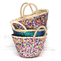 The Forest & Co.Small Sequinned Basket