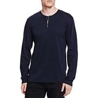 The KooplesLight Basic Zip Shirt