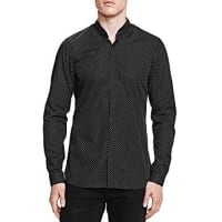 The KooplesMini Targets Slim Fit Button-Down Shirt