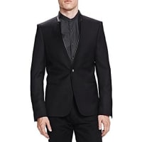 The KooplesTailor Super 100s Slim Fit Sport Coat