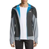 The North FaceKilowatt Front-Zip Hooded Jacket, Dark Gray