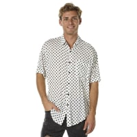 The People VSStevie Ss Mens Shirt White