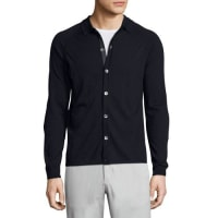 TheoryBerner New Sovereign Collared Cardigan