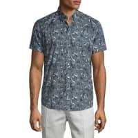 TheoryCoppolo Printed Short-Sleeve Shirt, Theorist Multi