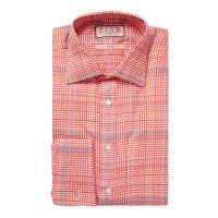 Thomas PinkHoundstooth Dress Shirt