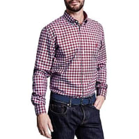 Thomas PinkMaxwell Check Button-Down Shirt - Bloomingdales Slim Fit