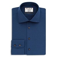 Thomas PinkWilliams Dot Dress Shirt - Bloomingdales Regular Fit - 100% Bloomingdales Exclusive
