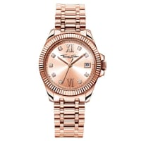Thomas SaboThomas Sabo Reloj para señora DIVINE rosa WA0220-265-208-33 mm