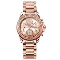 Thomas SaboThomas Sabo Reloj para señora GLAM CHRONO rosa WA0218-265-208-33 mm
