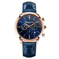 Thomas SaboThomas Sabo Mens Watch REBEL SPIRIT CHRONO blue WA0243-270-209-42 mm