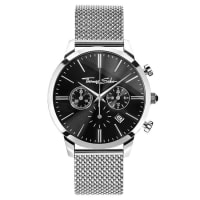 Thomas SaboThomas Sabo Mens Watch REBEL SPIRIT CHRONO black WA0245-201-203-42 mm