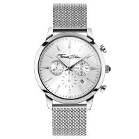 Thomas SaboThomas Sabo Reloj para señor REBEL SPIRIT CHRONO color plata WA0244-201-201-42 mm
