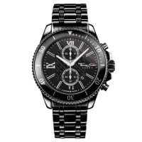 Thomas SaboThomas Sabo Herrenuhr REBEL CERAMIC schwarz WA0163-220-203-44 mm