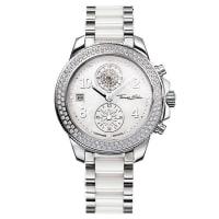 Thomas SaboThomas Sabo Reloj para señora GLAM CHRONO blanco WA0184-210-202-38 mm