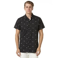 ThrillsPanther Ss Mens Shirt Black