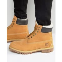TimberlandClassic Faux Shearling Premium Boots - Brown